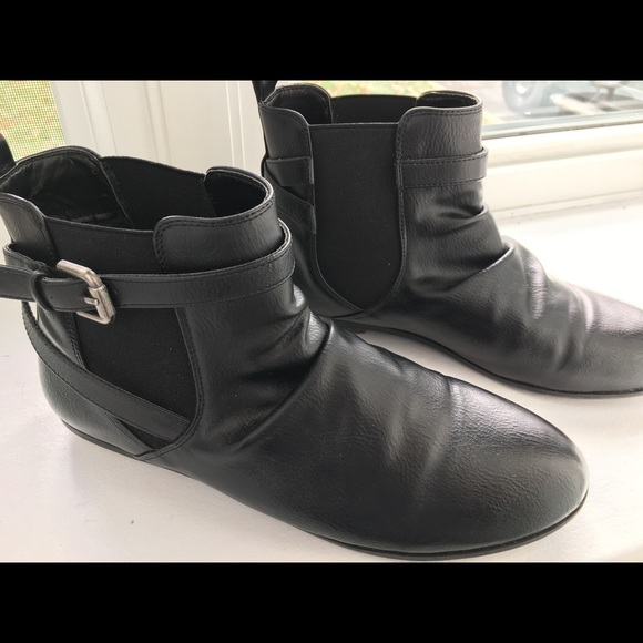 Call It Spring Shoes - Leather ankle boots